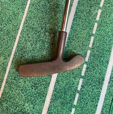 """Vintage Northwestern JC Snead 409 Brass Head Putter (35"""")"""