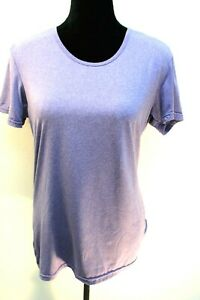 32*COOL Women's Running top Active Wear Short Sleeve Purple size XL