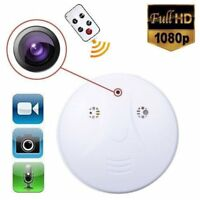 HD SPY Hidden Camera Smoke Detector Motion Nanny Cam Recorder Cam DVR Camcorder