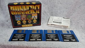Winners Blasteroids & Thunder Blade ONLY!! Vintage Atari ST Game with Box, Manua