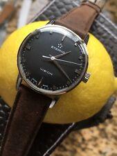 Vintage Eterna Vision 132T Boysize Watch Steel 31,4mm