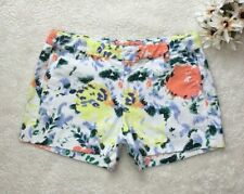 Gap Size 00 Floral Shorts Chino Womens Multicolor