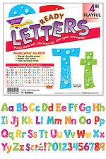 "216 classroom display board prêt lettres bulles ludique combo 4"" pouces"