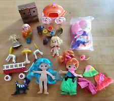 Vintage Lot of Liddle Kiddle Clone Dolls! Storykins, Flatsy, Finger Dings