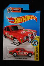 """2015 Hotwheels - '70 Ford Escort """"Castrol"""""""