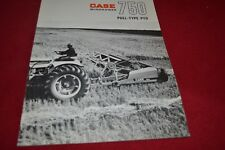 Case Tractor 750 Windrower Dealer's Brochure YABE14