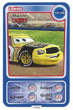 CARTE COLLECTOR DISNEY PIXAR AUCHAN 2010 NUMERO 135 LEAKLESS collection CARS