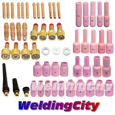 """TIG Welding Torch 17/18/26 All-in-One Kit 040-1/16-3/32-1/8"""" T28B US Seller Fast"""