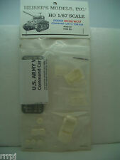 1:87 HO HEISER'S MODELS DODGE COMMAND CAR 3/4 TON 4X4 RESIN KIT #323-51 WALTHERS