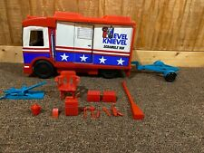 Vintage Ideal Evel Knievel Scramble Van with Few Accessories
