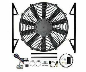 Revotec Electronic Cooling Fan Conversion Kit Austin Healey 100/4 - Pos Earth