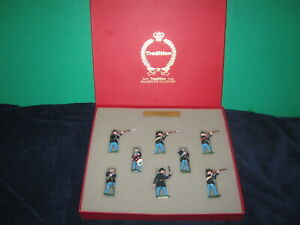 Tradition Soldiers For Collectors Boxed Set No.909 Union Infantry in Box
