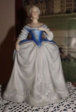 Catherine II The Great of Russia by Franklin on Royal blue Pedestal Dentelle