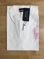 Femme Ralph Lauren Polo T-shirt à manches courtes Big pony blanc taille S