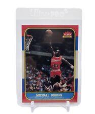 1986 Fleer Premier Michael Jordan Rookie Card rp#57 Ungraded