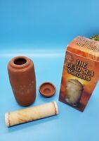 """The Dead Sea Scrolls Miniature Replica 5"""" Souvenir Isreal Pre-owned No Brochure"""