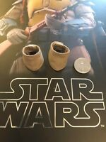 Hot Toys Star Wars Animated Boba Fett Grey Ankle Covers loose 1/6th scale