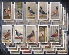 OGDENS, RACING PIGEONS. COMPLETE ORIGINAL SET OF 50 ISSUED 1931.