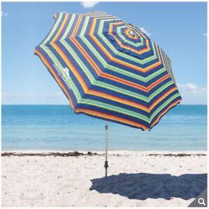 "Tommy Bahama Beach Umbrella/Parasol in ""Stripes"""