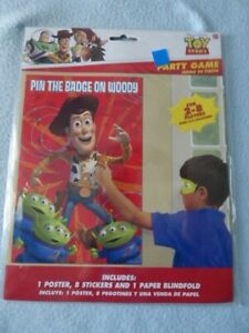 Disney Toy Story Party Game, Birthday ~ NEW ~ Fast Shipping!