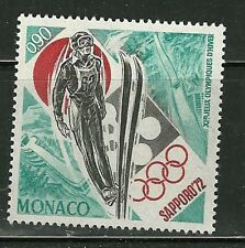 MONACO MINT NEVER HINGED NH # 828