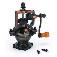 Woodturning Project Kit for Antique Hand Crank Pepper Grinder Mechanism