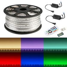 RGB 50M 5050 SMD Flexible 3000 LED Strip Light 60LED/M Waterproof XMAS 110-120V