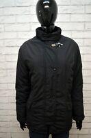 FAY Parka Donna Nero Taglia XL Giubbotto Giacca Imbottita Jacket Woman Black