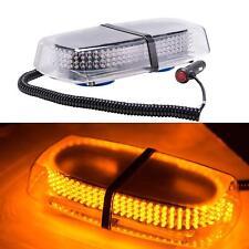 12V 240 LED Amber Emergency Beacon Warning Strobe Flash Roof Magnetic Light Bar
