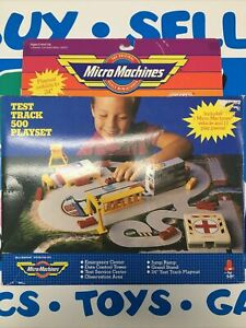 Vintage Micro Machines Test Track 500 Playset New In The Box 100% Complete