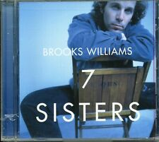 Brooks Williams SEVEN SISTERS cd 1997 NEW!! Sealed Green Linnet