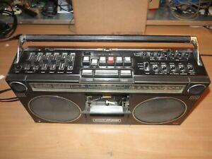 Sharp GF-9090 Hb Cassette Recorder Radio Ghetto Blaster Boombox Vintage