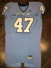 Game Worn Used Nike North Carolina Tar Heels UNC Football Jersey #47 Size 46