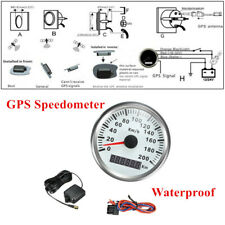 12V 200Km/H 85MM Car Truck Digital Stainless Gauge Waterproof GPS Speedometer