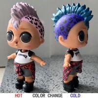 Color Change LOL PUNK BOI BOY L.O.L. SURPRISE DOLL Series 3 WAVE 2 Wrong Body