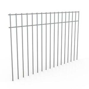 Animal Dig Barrier Extra Large Maximum Pet Fence Outdoor Steel Fencing 5 Pack