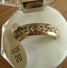 Simulated Diamond Fine Rings