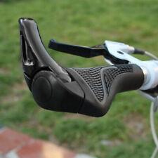 1 Pair MTB Bar End Handlebar Grips Lock-On End Bicycle Mountain Bike Ergonomic