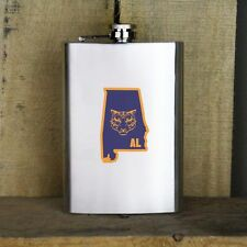 Original I Tiger Alabama Classic University Stainless Steel Flask Auburn 8 oz