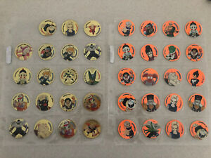 (Listed On Gumtree For $500) Dragonball Z Tazos Dbz Dragon Gold Fluro