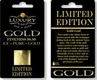 24k Gold Leaf 100% Genuine 10 sheets