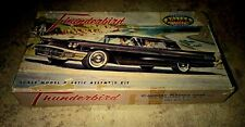 Aurora Ford T-Bird Plastic model car kit, 1/32 scale, 1958 Model-Super Rare.