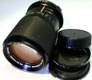 Vivitar 70-150mm f3.8 Lens For Olympus OM manual focus zoom