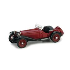ALFA ROMEO 2300 1931 BICOLORE AMARANTO/NERO 1:43 Brumm Auto d'Epoca Die Cast