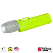 Ersatzgehäuse UK 4AA eLED ZOOM Helmlampe Heckschalter neongelb
