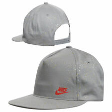 Gorras y sombreros de hombre grises Nike