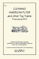 CLEANING AMERICAN FLYER Trains BOOKLET