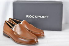 Men's Rockport Curty's Venetian Slip On Loafers Cognac 11.5W