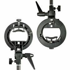 Godox S-Type Bracket Bowens S Mount Holder for Speedlite Flash AD-180 AD-360