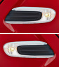 2x BMW MINI F56 F55 F57 CLEAR SIDE INDICATOR REPEATER SCUTTLE TRIM WHITE COOPER